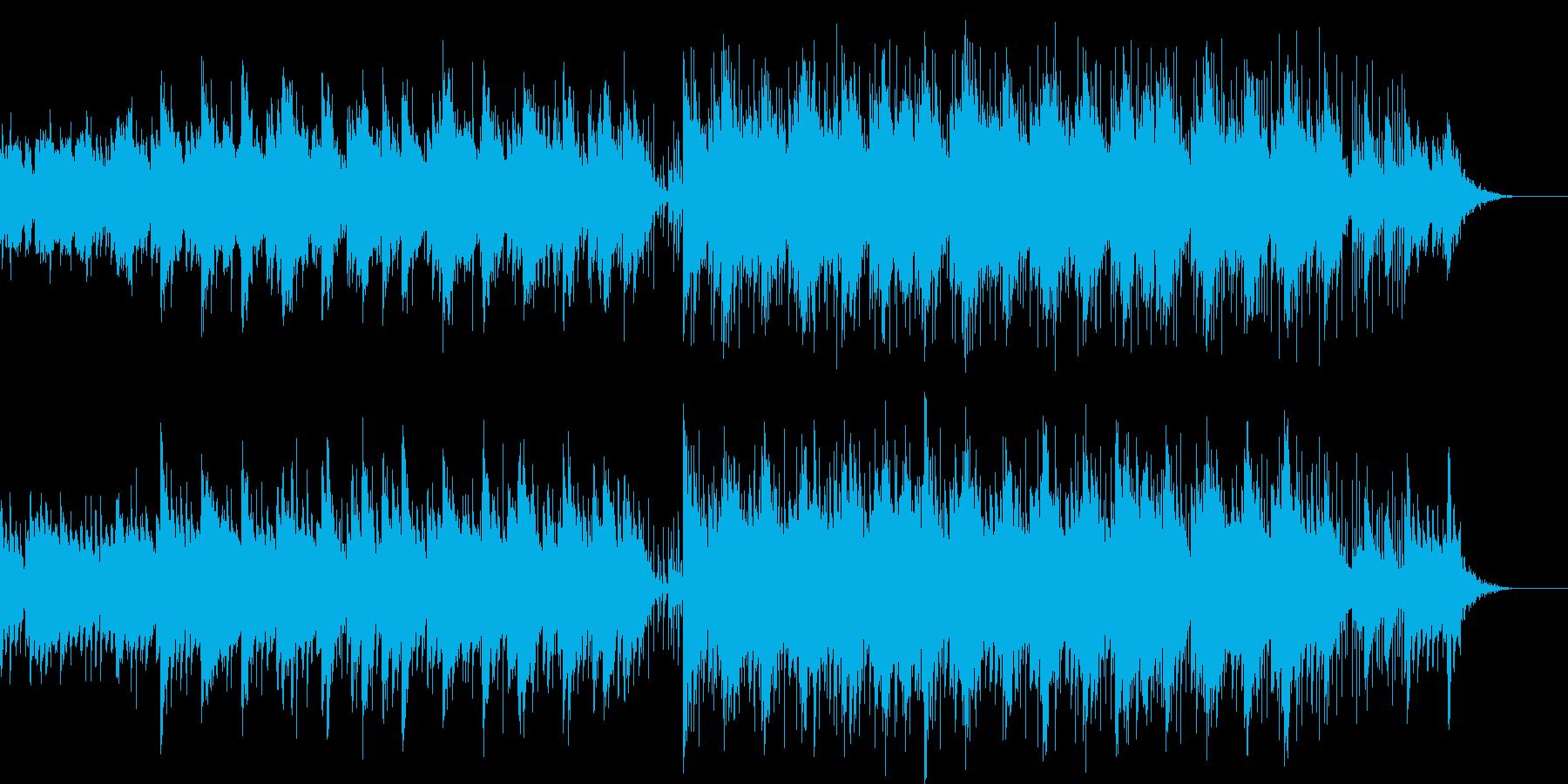 ストリーミング ハッピー EDM ピアノの再生済みの波形
