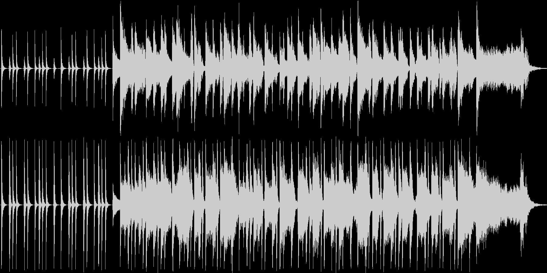 おしゃれなボサノバ風BGMの未再生の波形