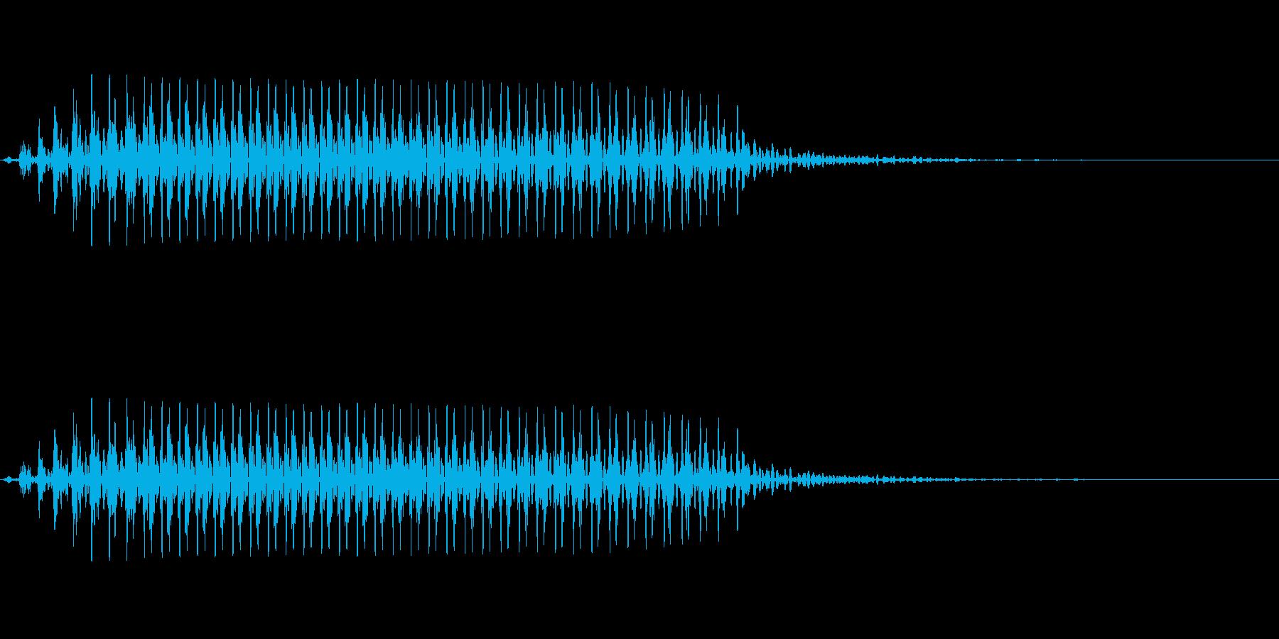 【SE 効果音】効果音その4の再生済みの波形
