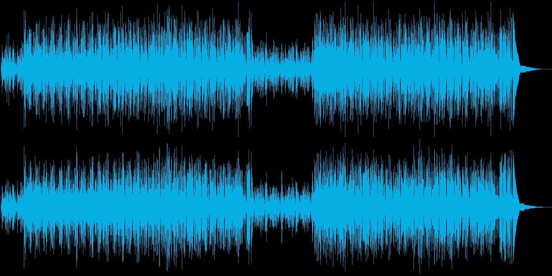 明るく楽しいアコースティックポップスの再生済みの波形