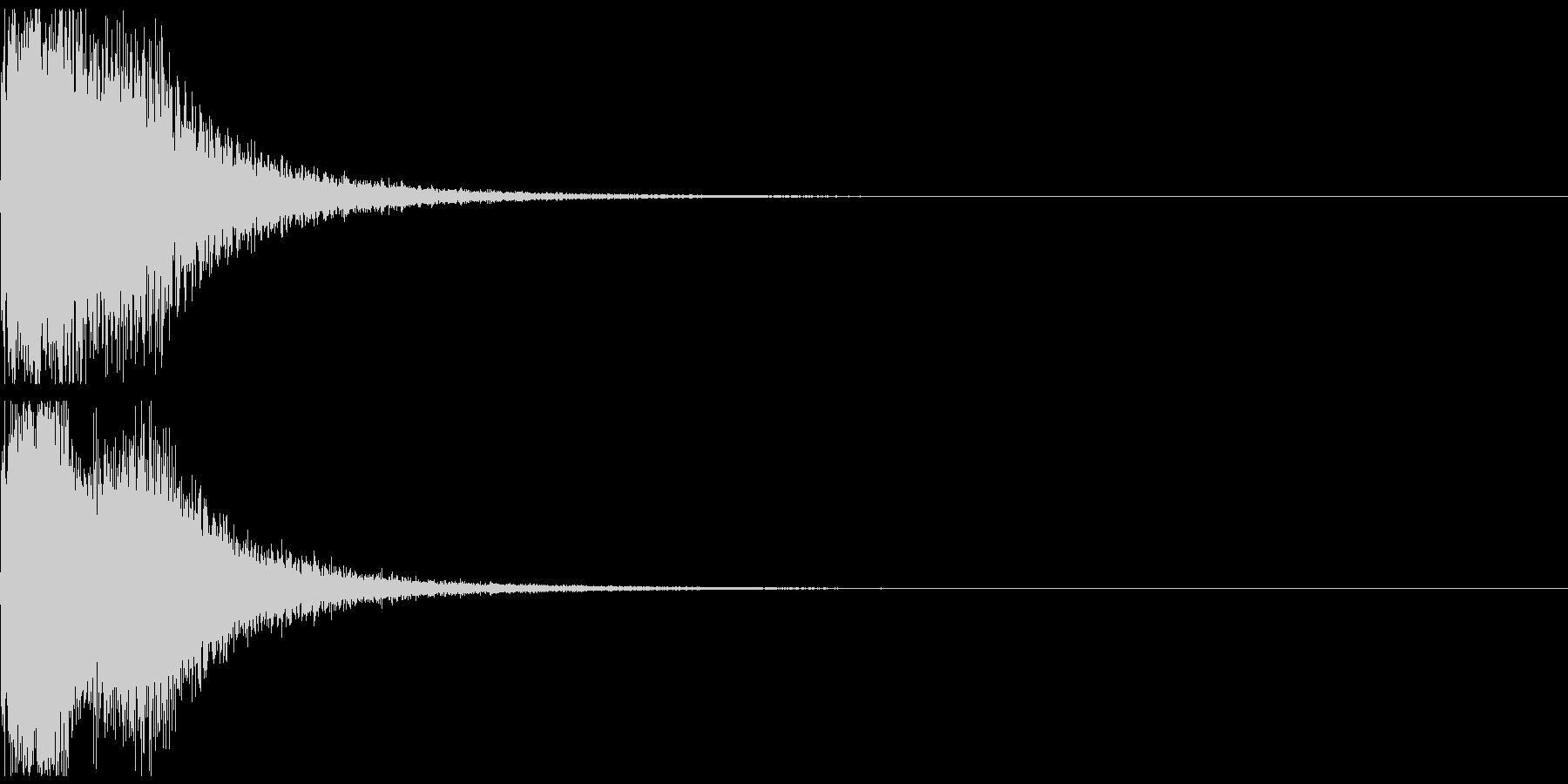 ワープ(近未来)の未再生の波形