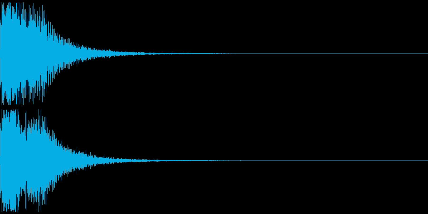ワープ(近未来)の再生済みの波形