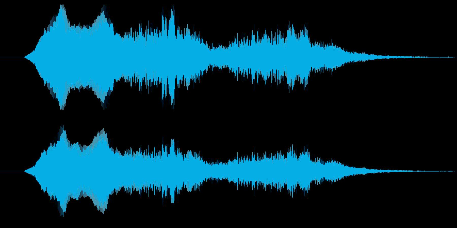 1,2のバリエーション、少しの違い。の再生済みの波形