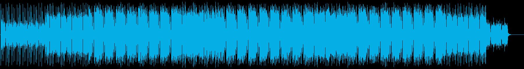 大人・オシャレな雰囲気のスイングジャズの再生済みの波形