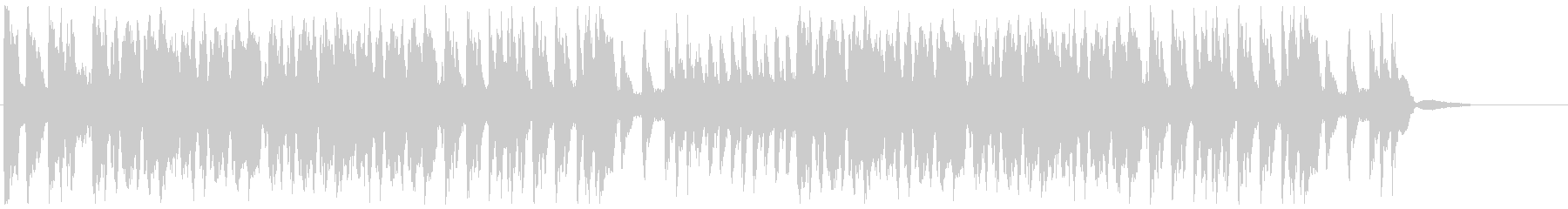 吹奏楽:応援マーチの未再生の波形