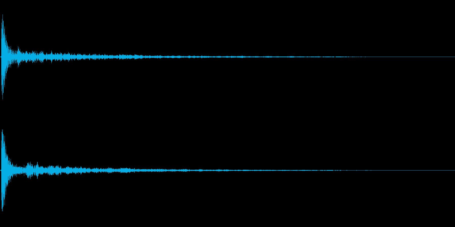 【風呂桶01-1】の再生済みの波形