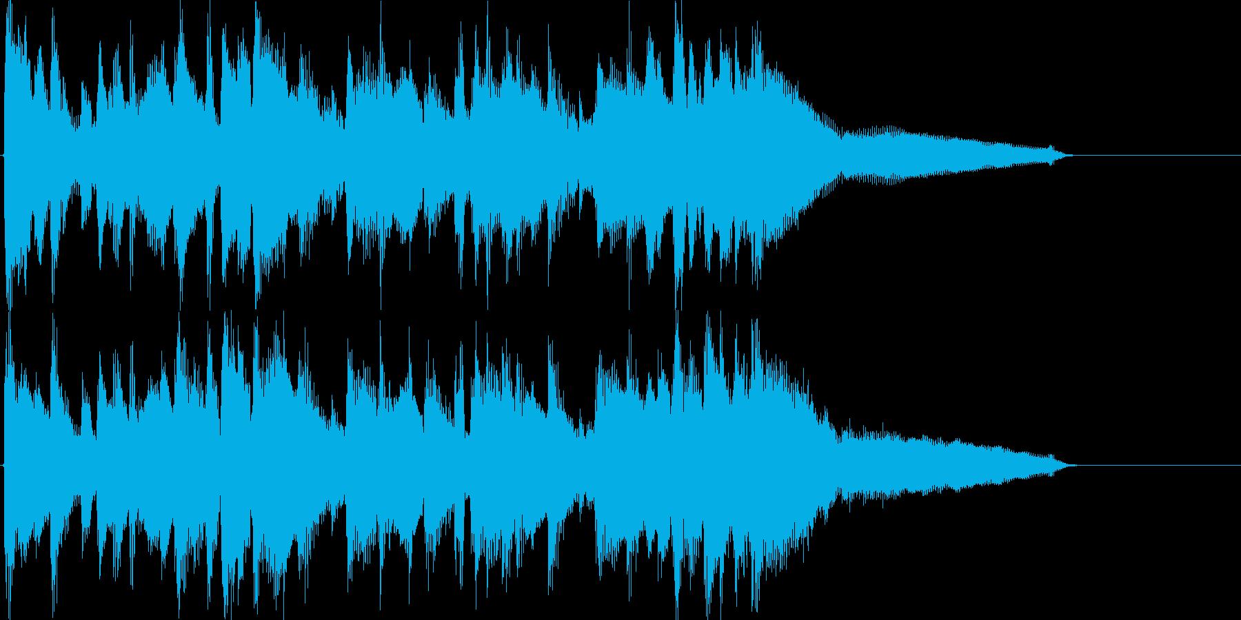 フルートを主体にした爽やかなボサノバの再生済みの波形