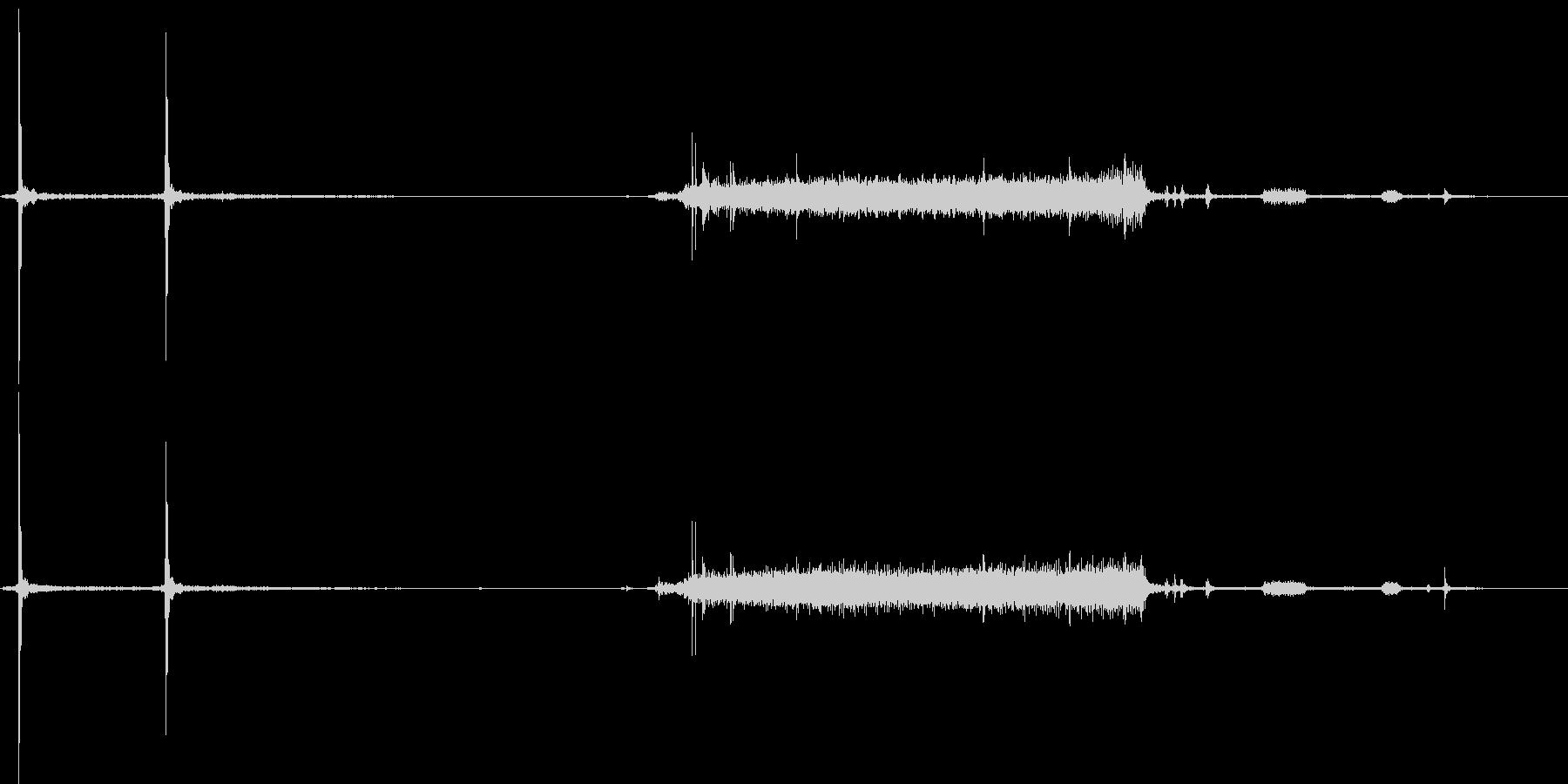 デジカメの起動音の未再生の波形