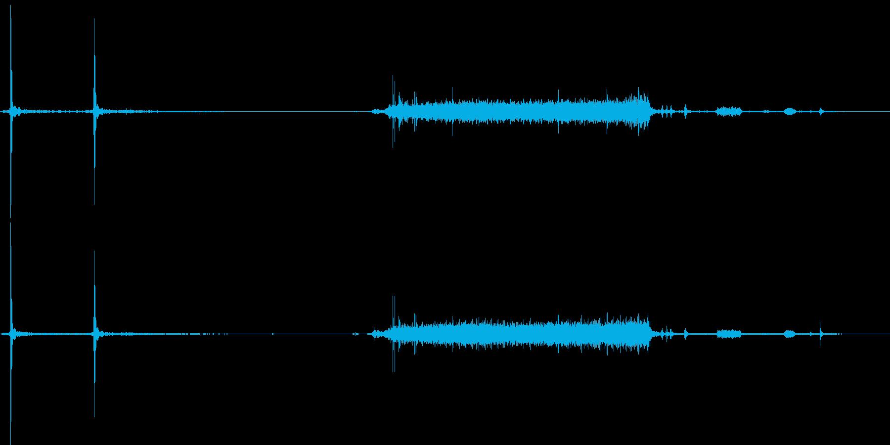 デジカメの起動音の再生済みの波形
