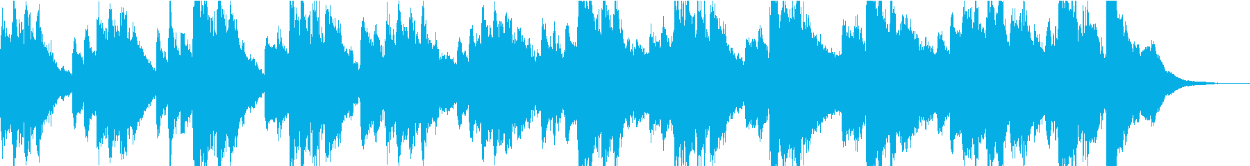 ゆったりとした雰囲気のピアノループの再生済みの波形