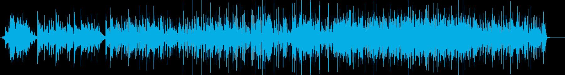 映像系やBGMに合いそうな中華音楽の再生済みの波形