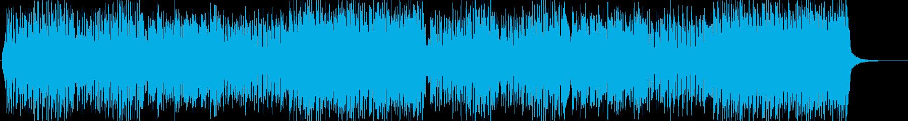 トルコ行進曲のポップアレンジ曲の再生済みの波形