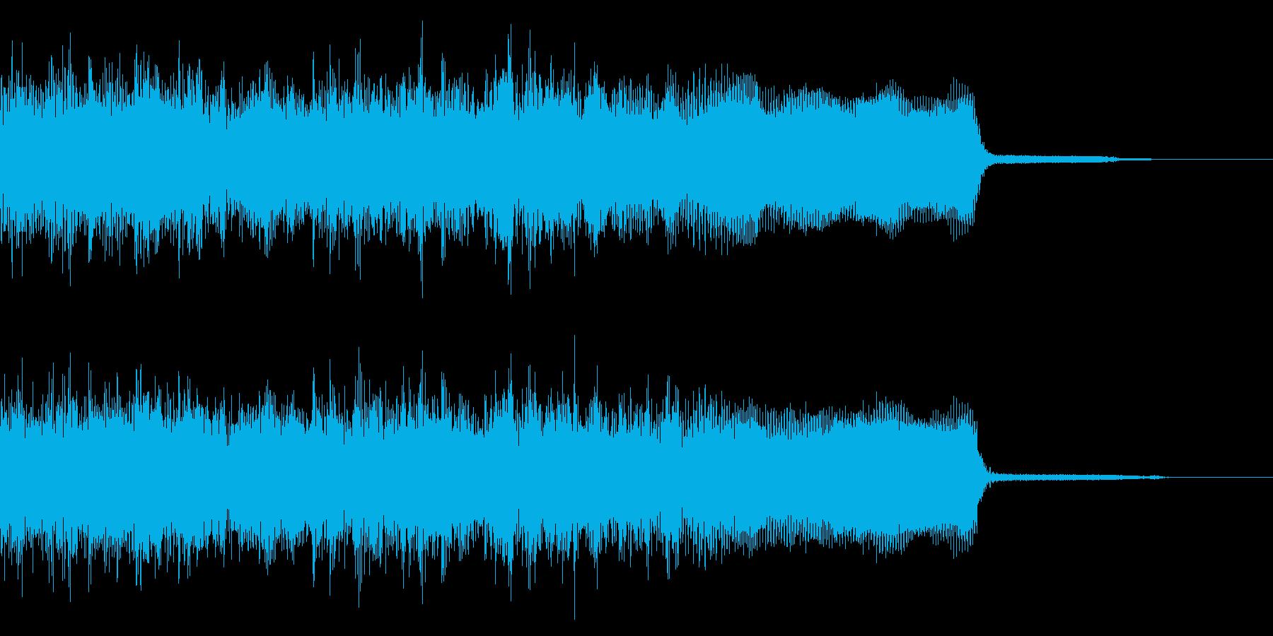 メタル系ジングル ネオクラシカル 切替の再生済みの波形