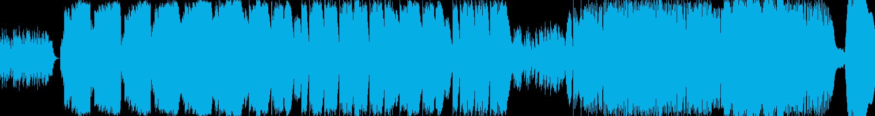 大空を飛ぶ鳥をイメージしたmellowの再生済みの波形