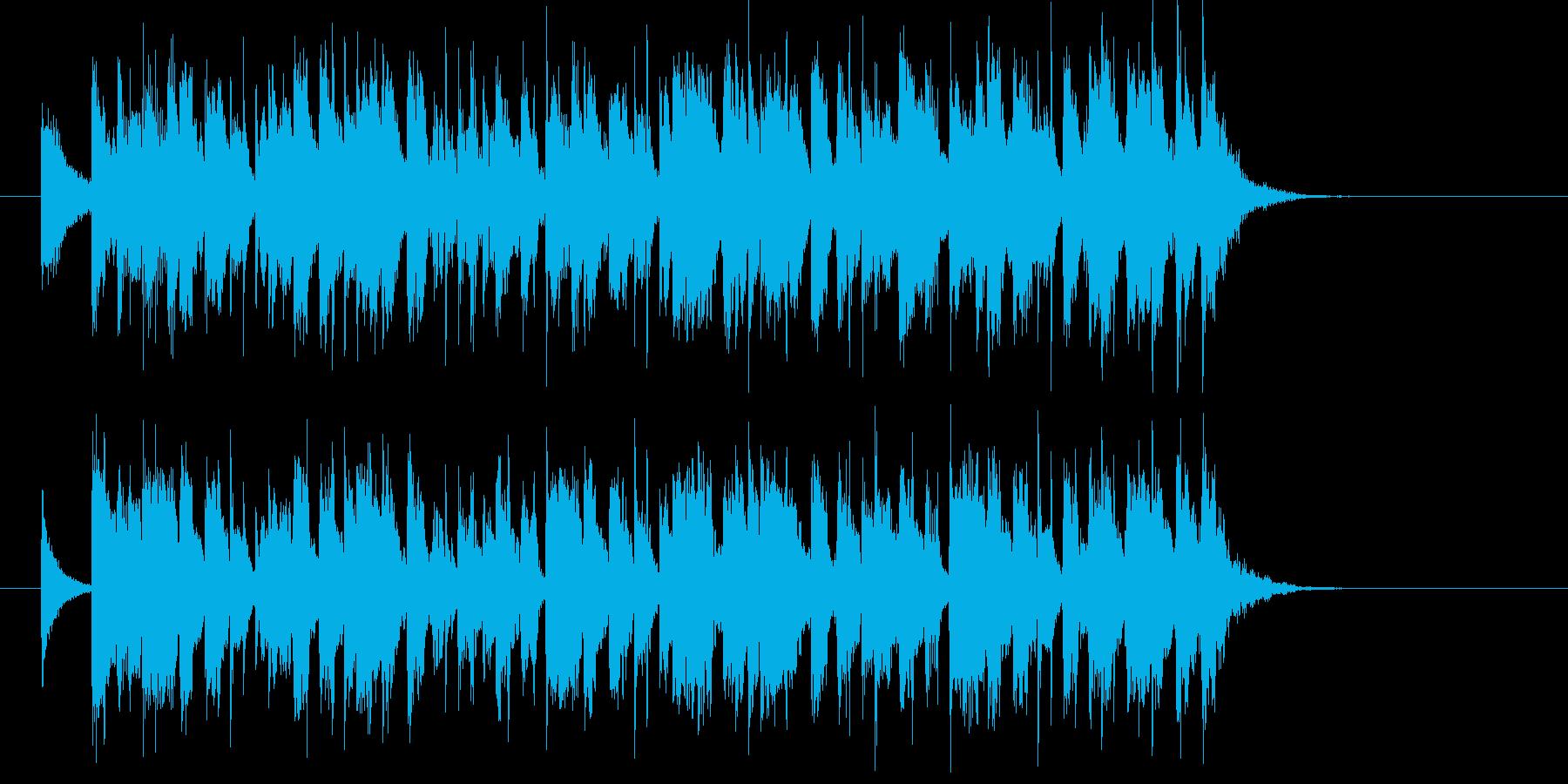 煌びやかで軽快で可憐なポップジングルの再生済みの波形