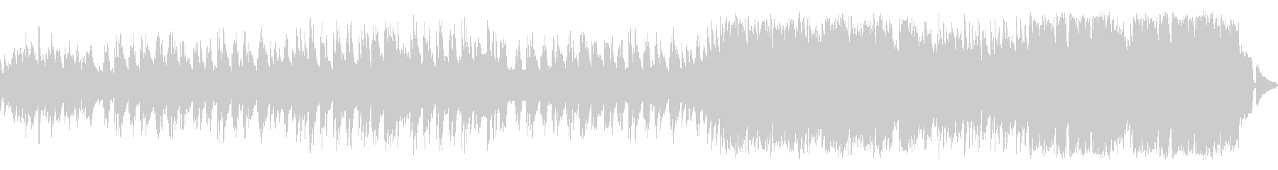 穏やかで優しいメロディアスなピアノワルツの未再生の波形