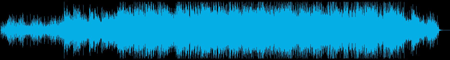 科学的で幻想的な淡々としたエレクトロニカの再生済みの波形