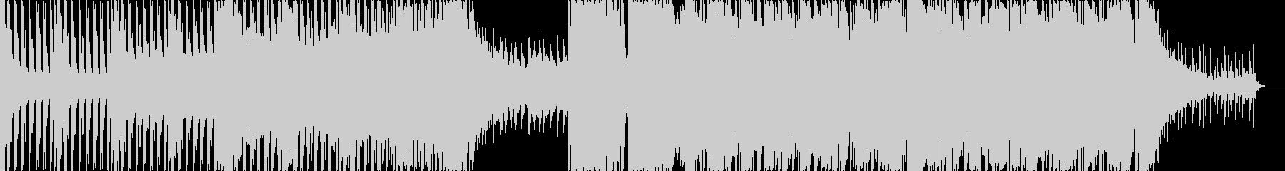 きらびやかなディスコ調のEDMの未再生の波形