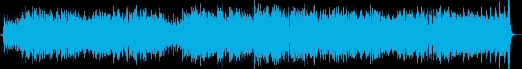 スタイリッシュ ジャズ アップテンポの再生済みの波形