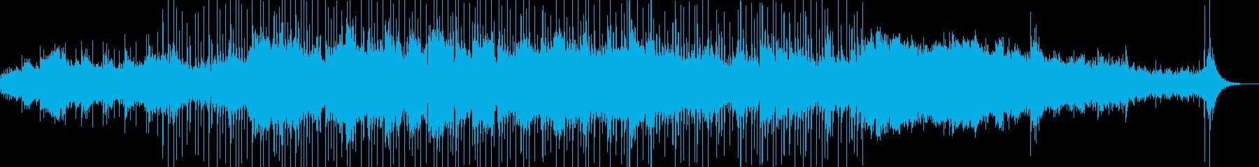 寂寥感のあるゆったりした曲の再生済みの波形