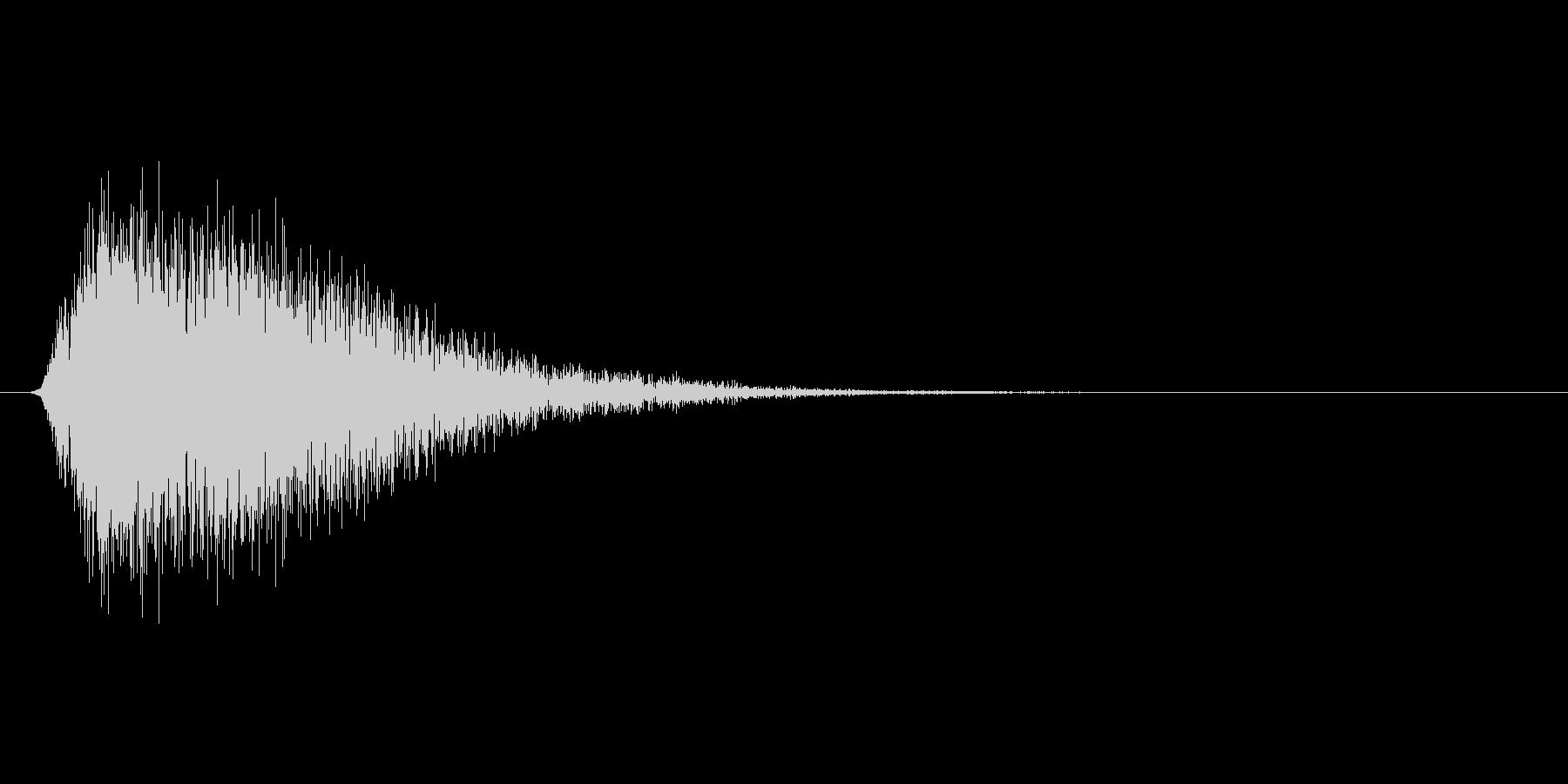 ブーン(魔法、バリア、展開)の未再生の波形