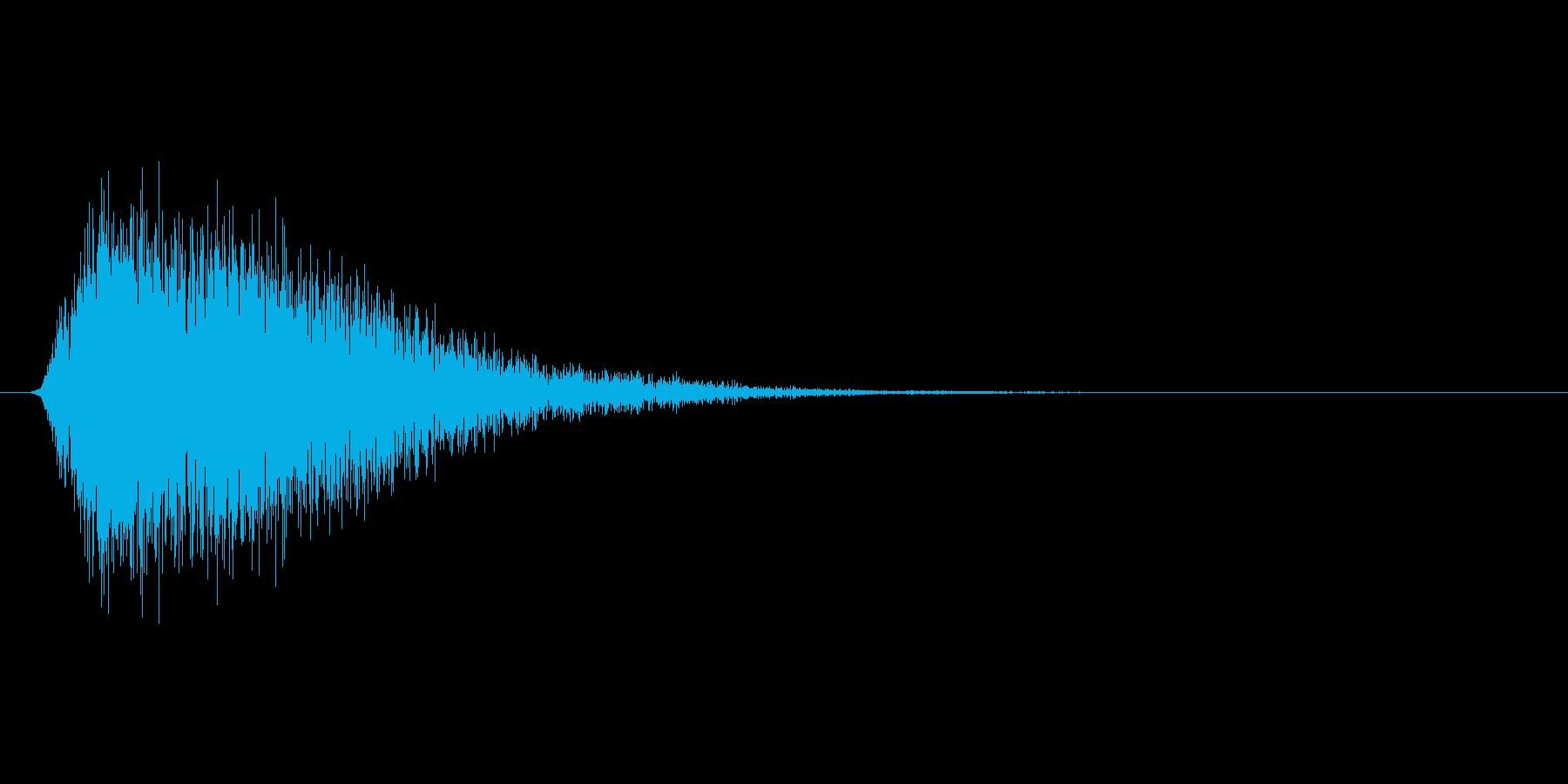 ブーン(魔法、バリア、展開)の再生済みの波形