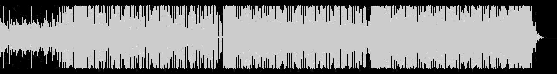 テンポの良いアコースティックポップの未再生の波形