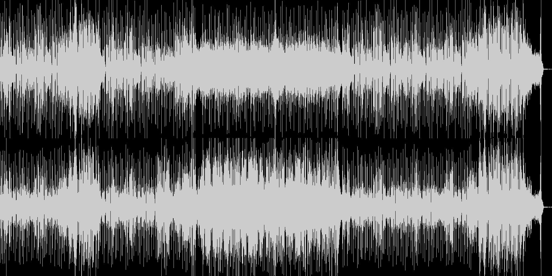 オシャレな弦楽器のシティポップの未再生の波形