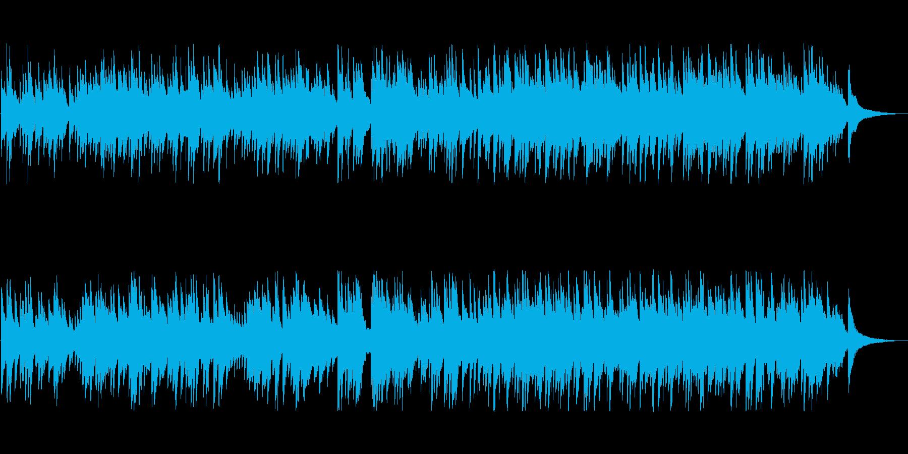 メロディーがしっかりした感動系バラードの再生済みの波形