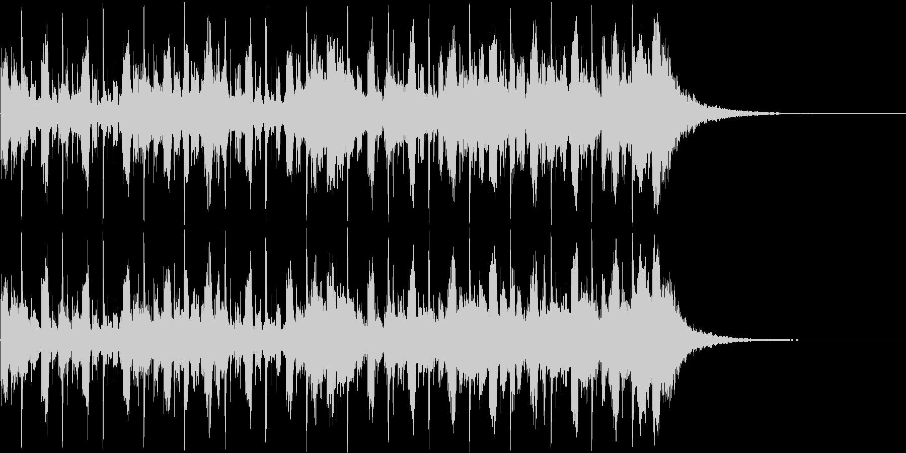 CMあけジングルの未再生の波形