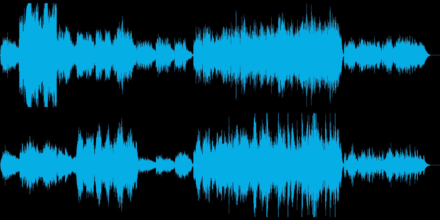 優しく雄大なオーケストラサウンドの再生済みの波形