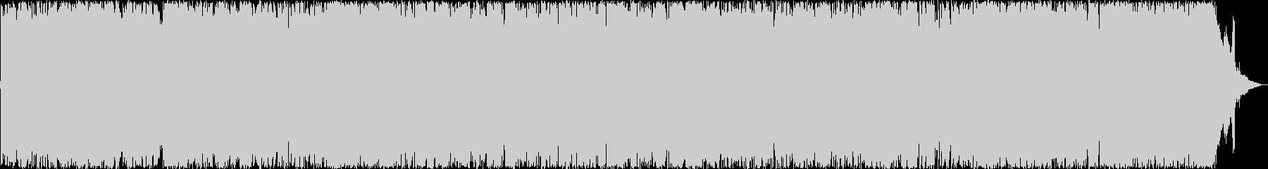 軽快でムードあるポップロックの未再生の波形