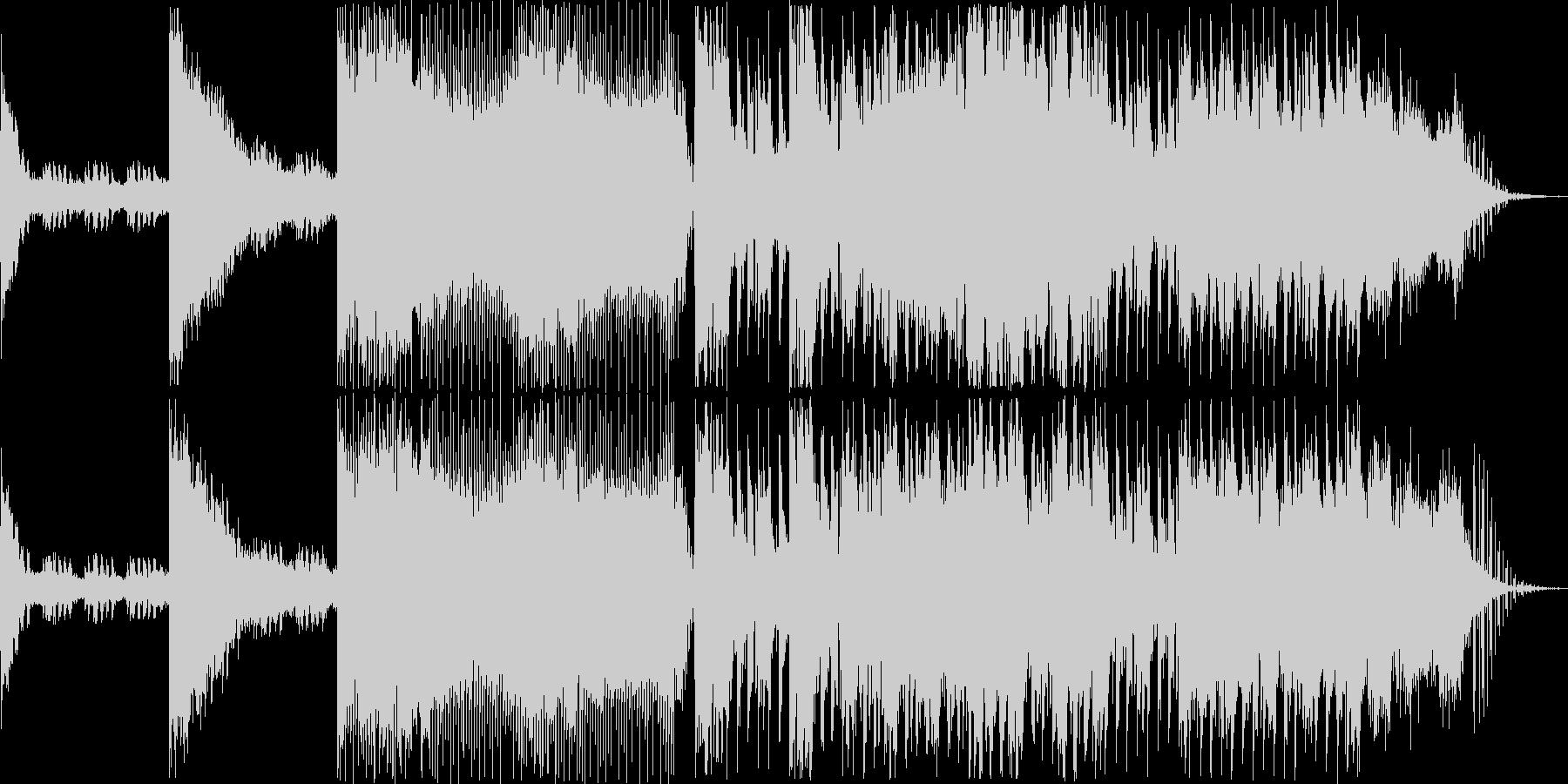 民族ボイス+アンビエント+パーカッショ…の未再生の波形