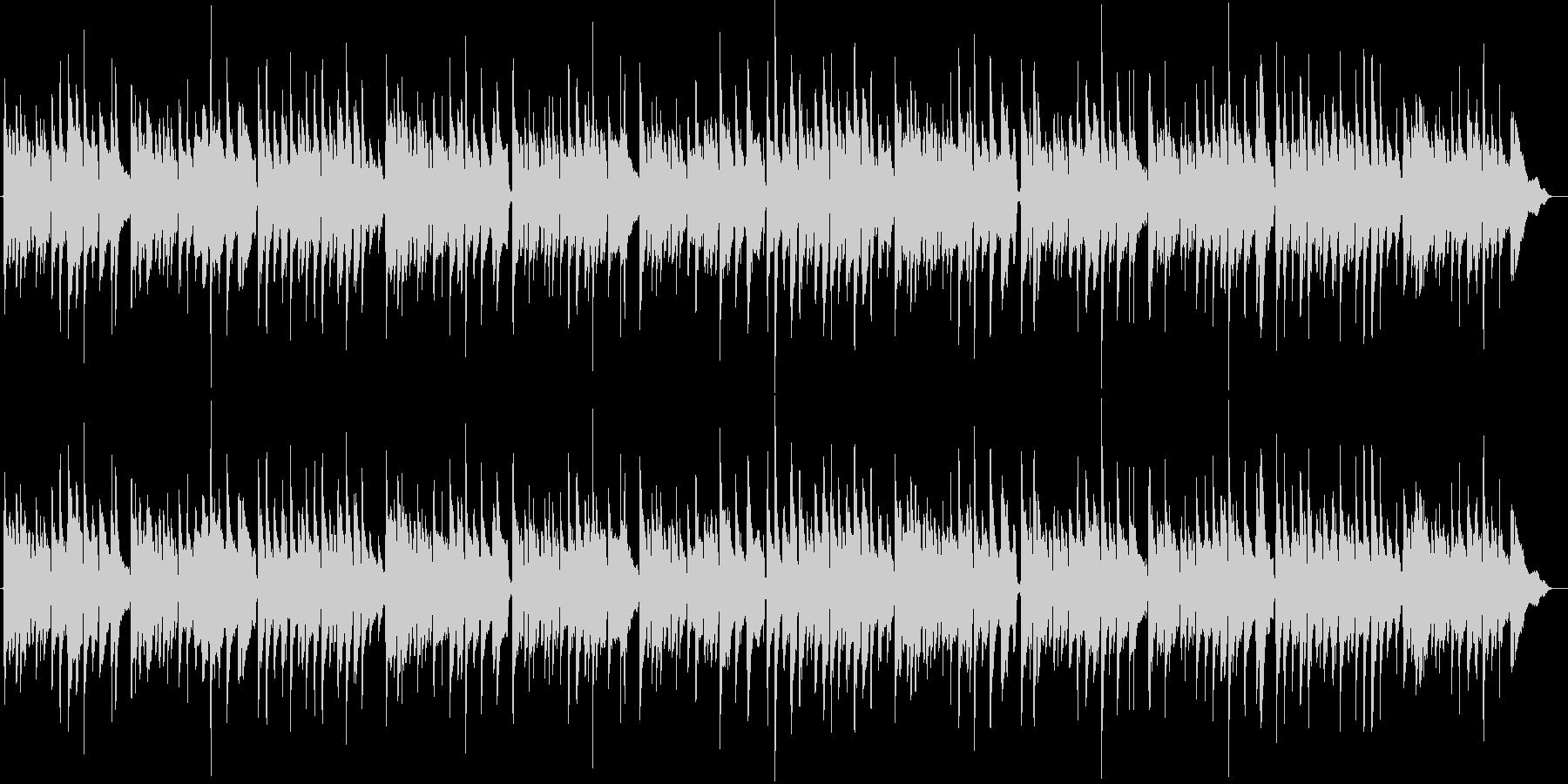 ベートーヴェン第9 アコギ合奏 喜びの歌の未再生の波形