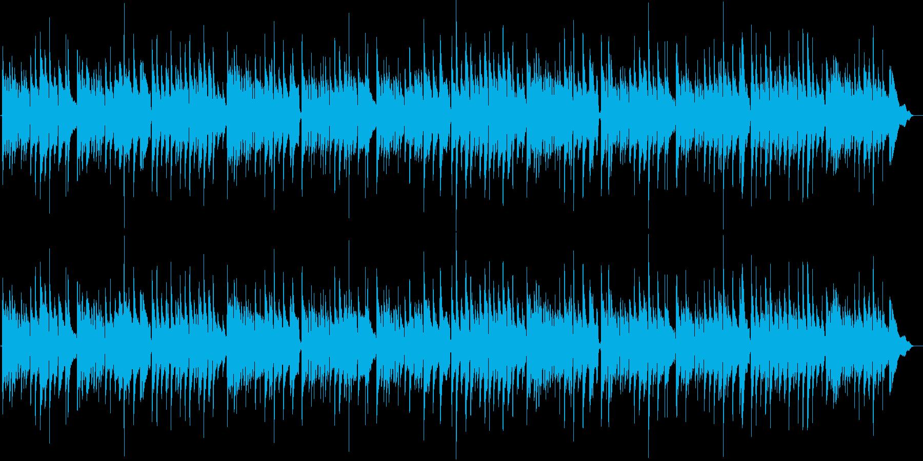 ベートーヴェン第9 アコギ合奏 喜びの歌の再生済みの波形