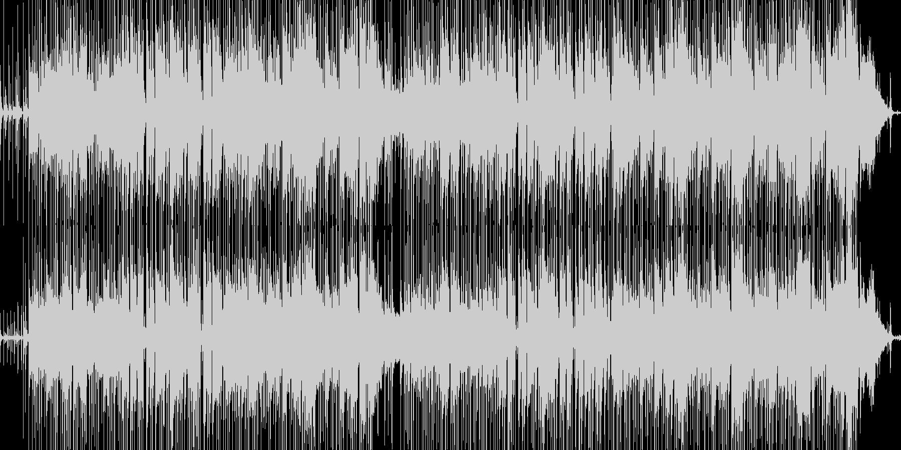 ほのぼの日常系ギターインストの未再生の波形