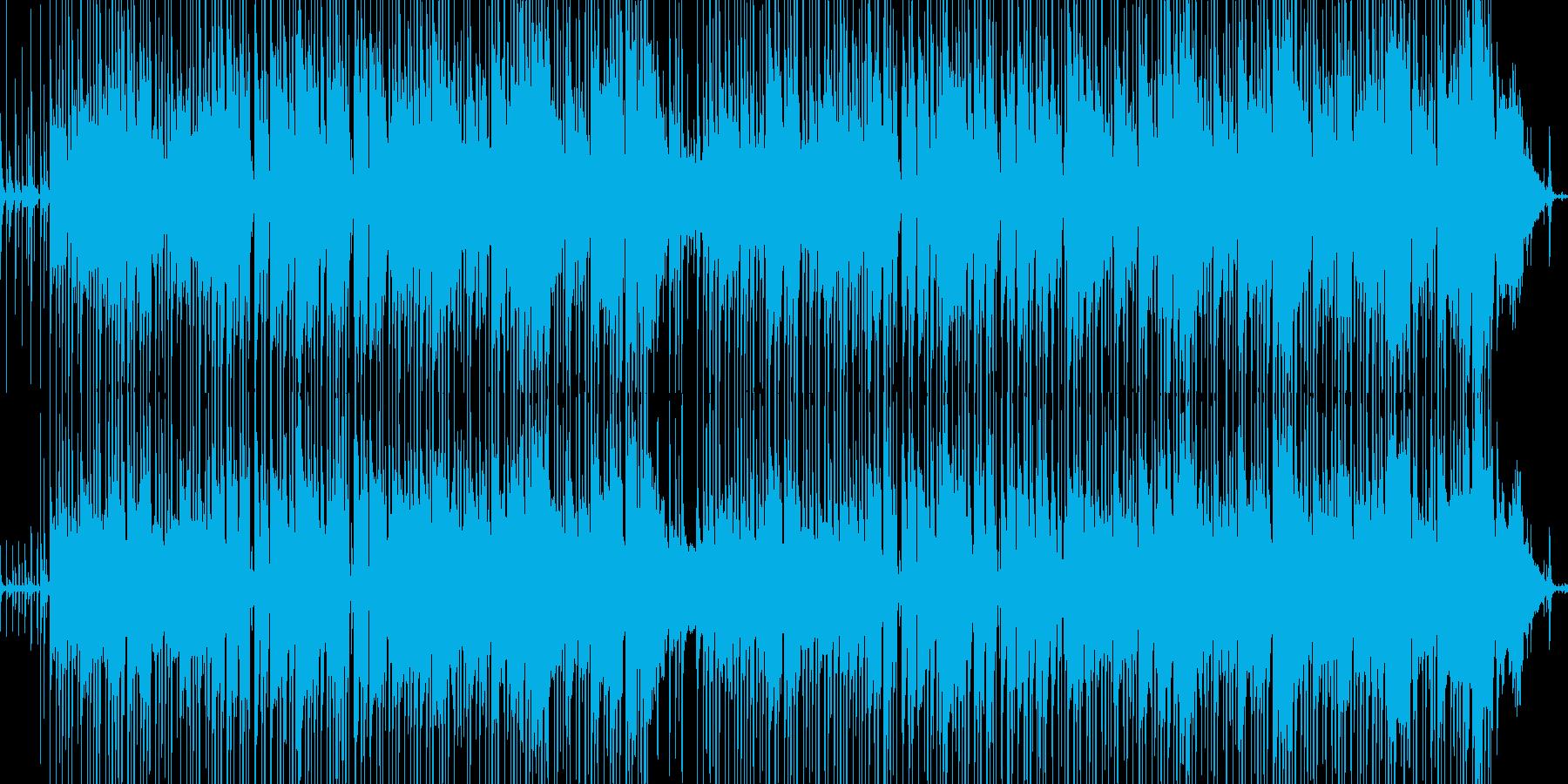 ほのぼの日常系ギターインストの再生済みの波形