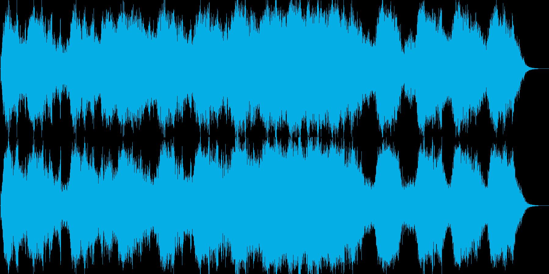 映像・舞台等で使用しやすいパッド系楽曲の再生済みの波形