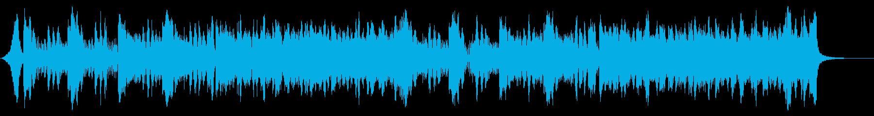 ゲーム向けオーケストラ、通常戦闘曲の再生済みの波形