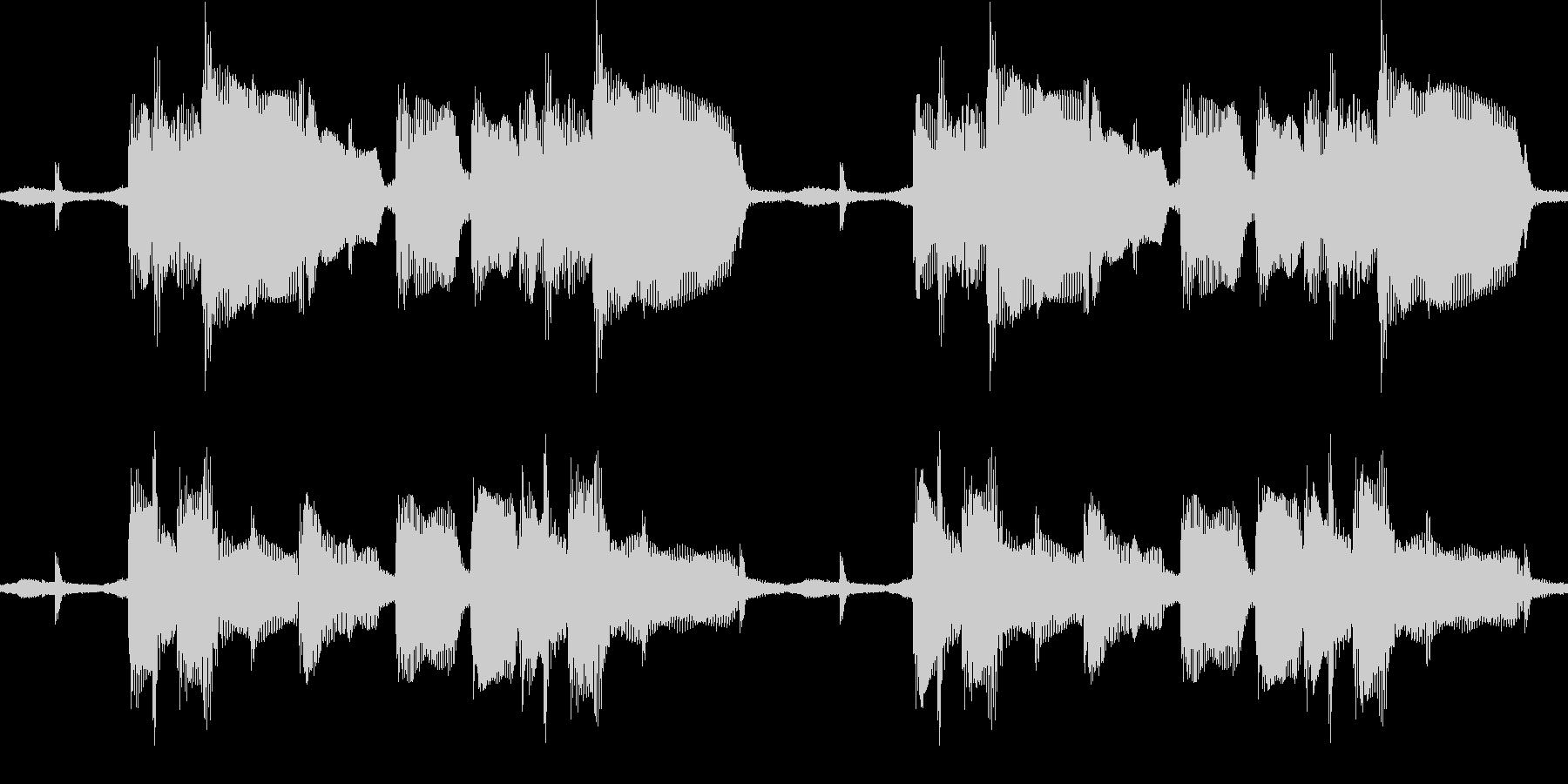 ジャジーなサウンドループの未再生の波形