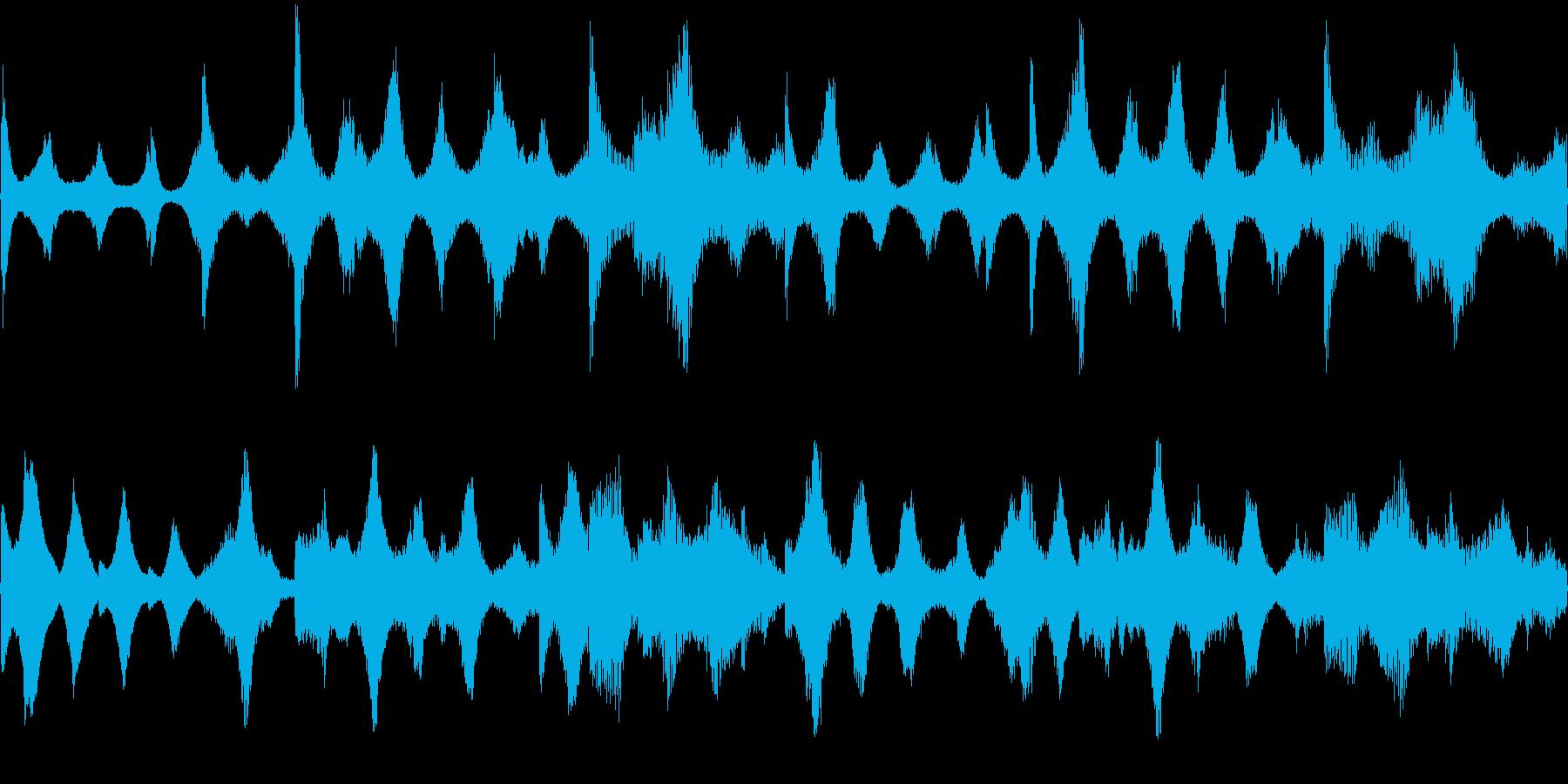 k007 アラーム音(ループ仕様)の再生済みの波形