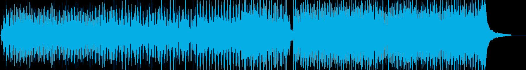 【ベース無し】アコギとピアノのポップスの再生済みの波形
