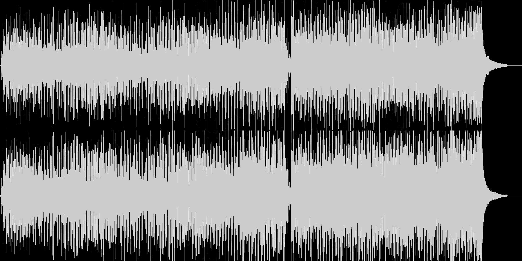 【ベース無し】アコギとピアノのポップスの未再生の波形