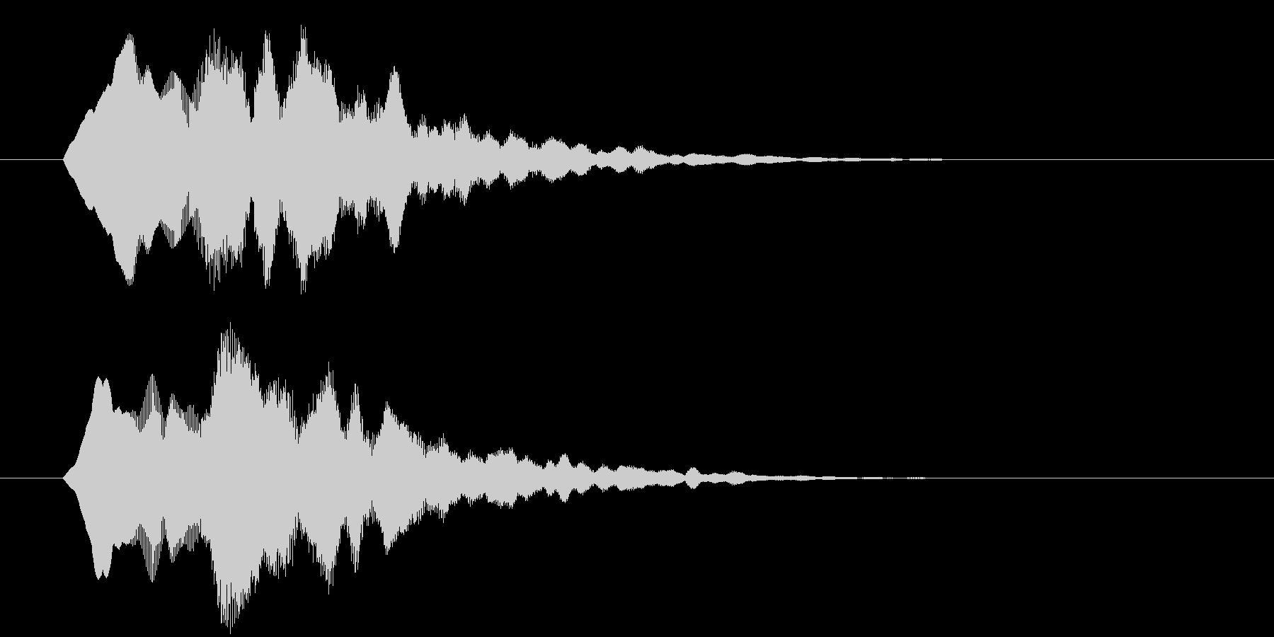 サウンドロゴ  ティラリ 明るすぎないの未再生の波形