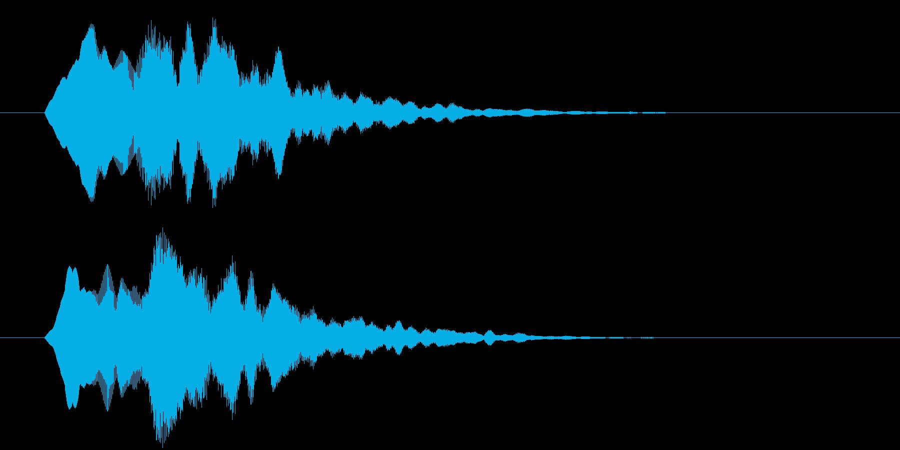 サウンドロゴ  ティラリ 明るすぎないの再生済みの波形