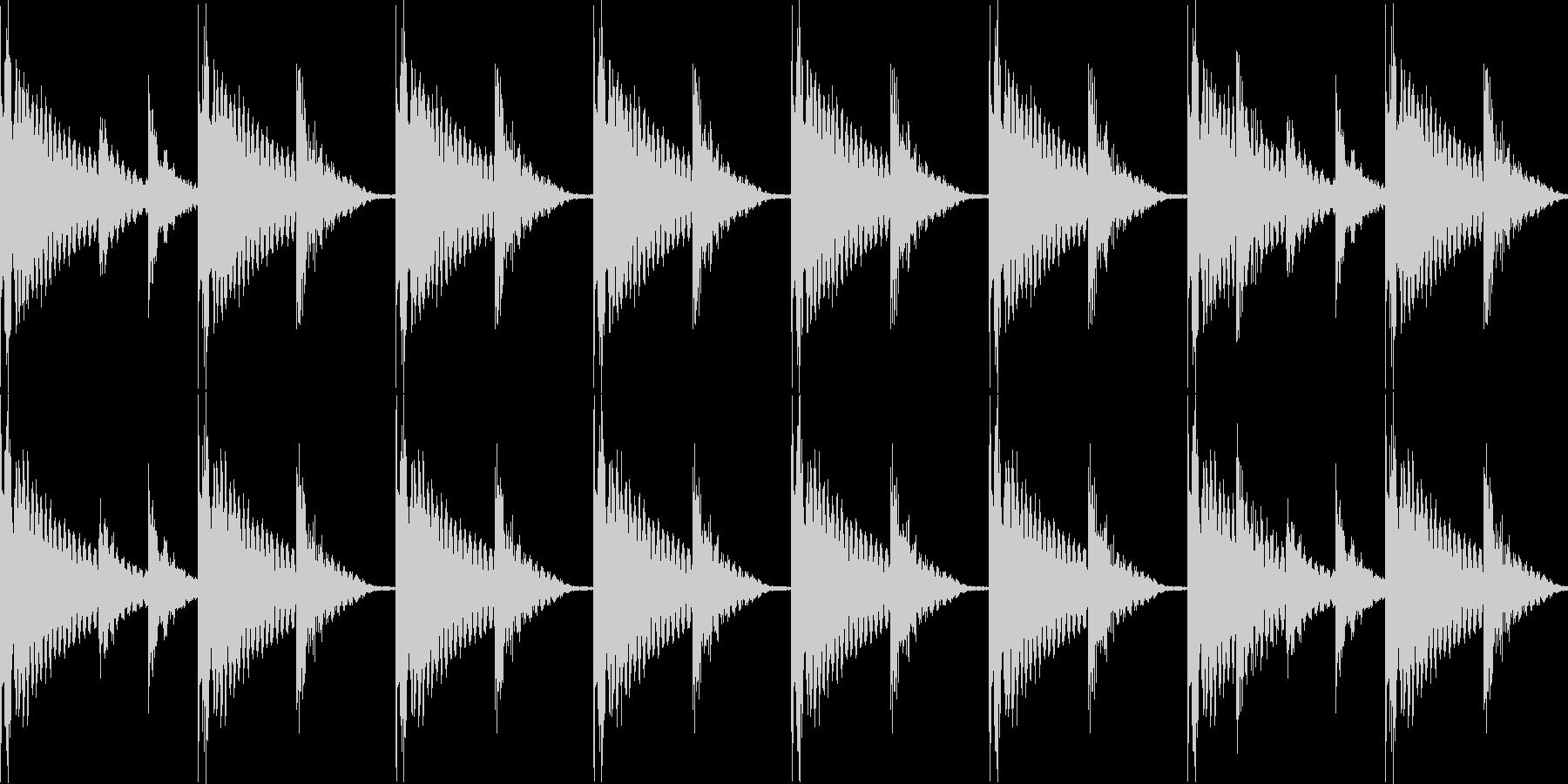 BPM128EDMリズムループ00013の未再生の波形