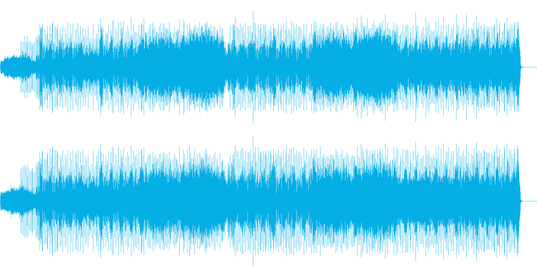 軽快なテンポで展開するファンクポップの再生済みの波形