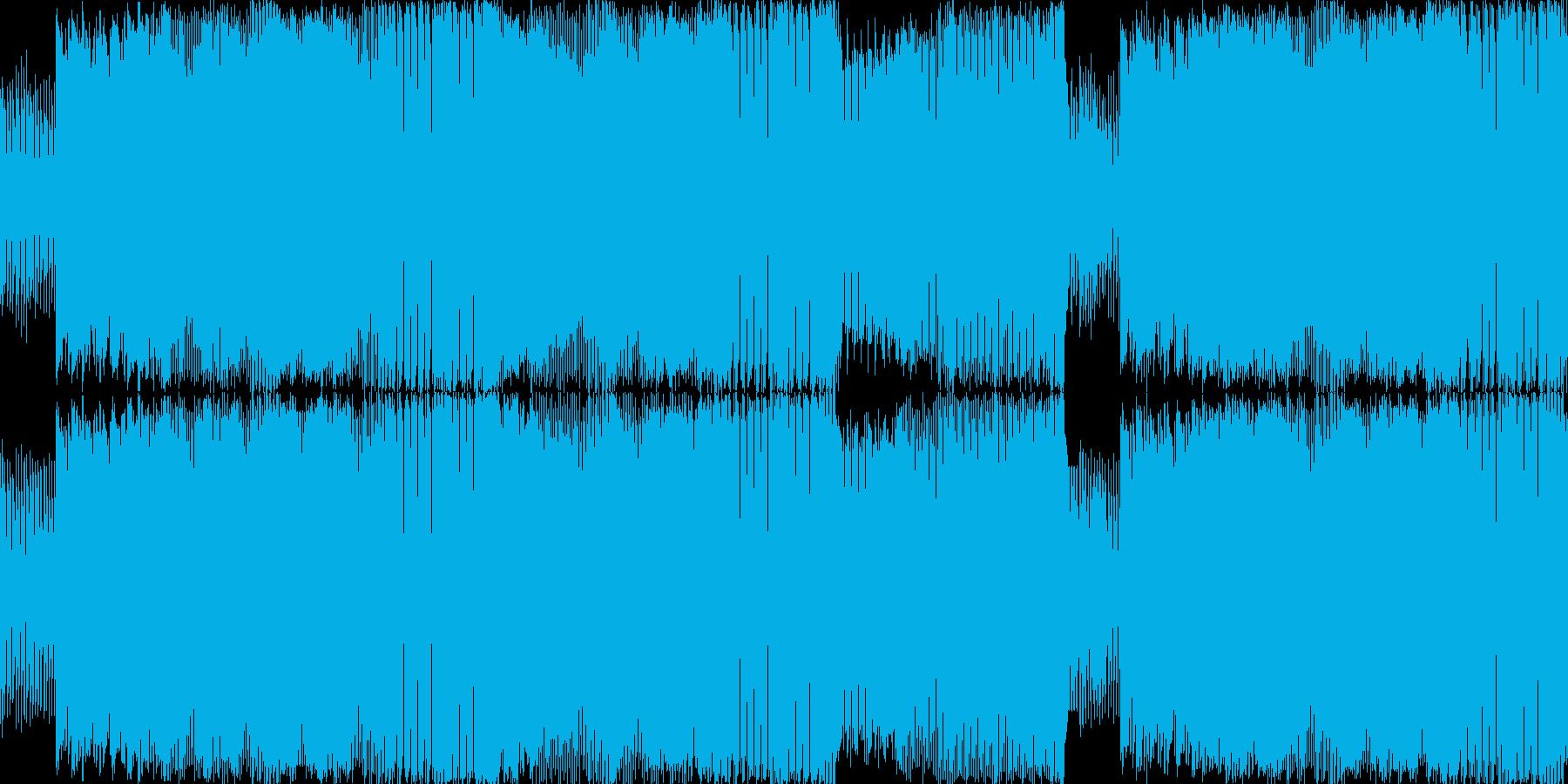 あわてんぼう、急ぐアップテンポ_LOOPの再生済みの波形