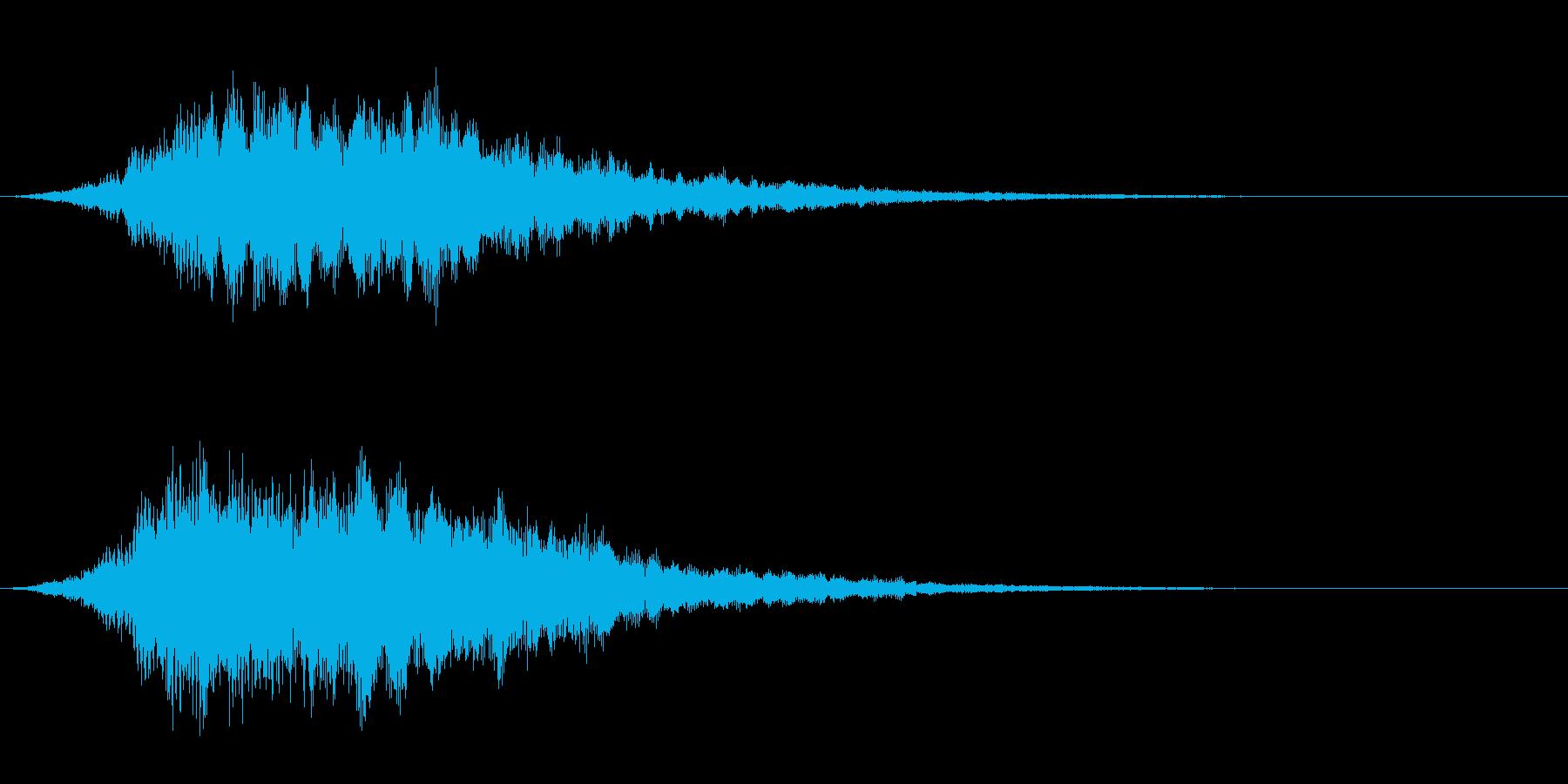 【ショートブリッジ05-1】の再生済みの波形