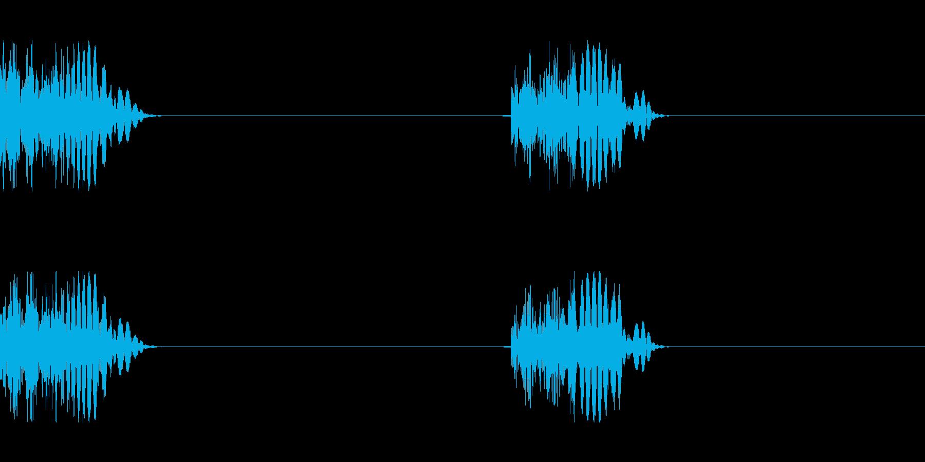 モンスターの足音 2の再生済みの波形